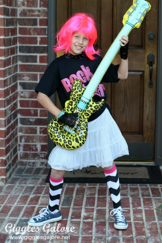 Rock Star Diy Halloween Costumes For Kids Popsugar Family Photo 12