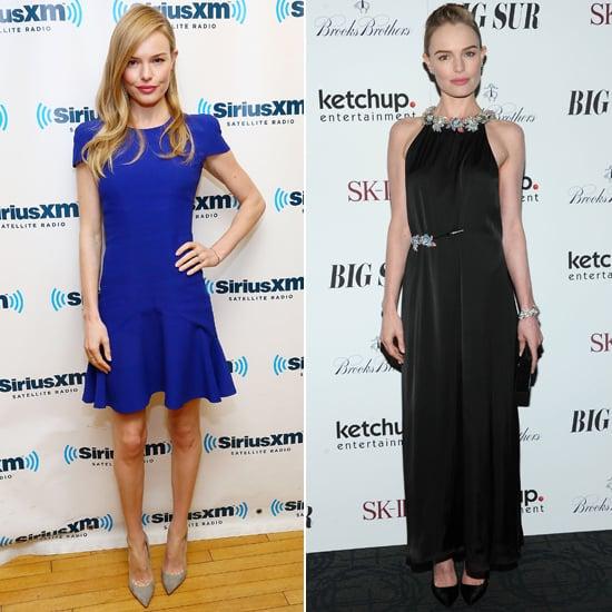 Kate Bosworth Loves British Fashion Designers