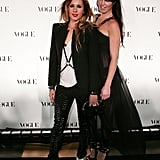 Pip Edwards and Nicky Hunter at the Vogue Australia 50th Anniversary Party in 2009