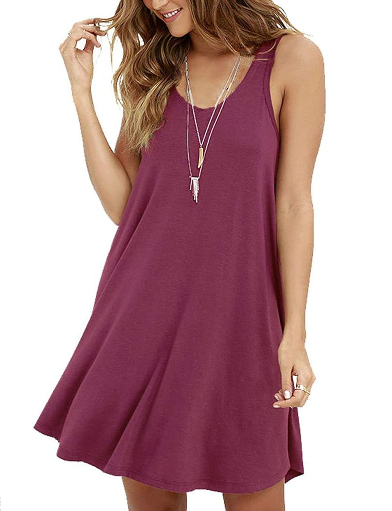 Molerani Casual Simple T-Shirt Loose Dress | Best Amazon Prime Day ...