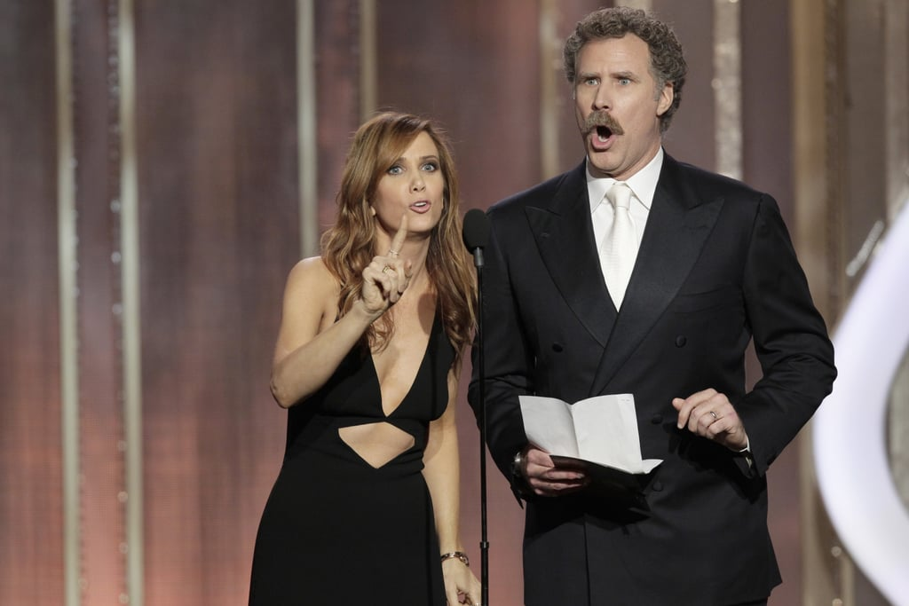 Kristen Wiig and Will Ferrell had a hilarious bit where they pretended to have not seen any of the movies nominated for best supporting actress in a comedy or musical.