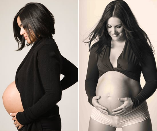 How to Look Like a Celeb at Your Own Pregnancy Photo Shoot