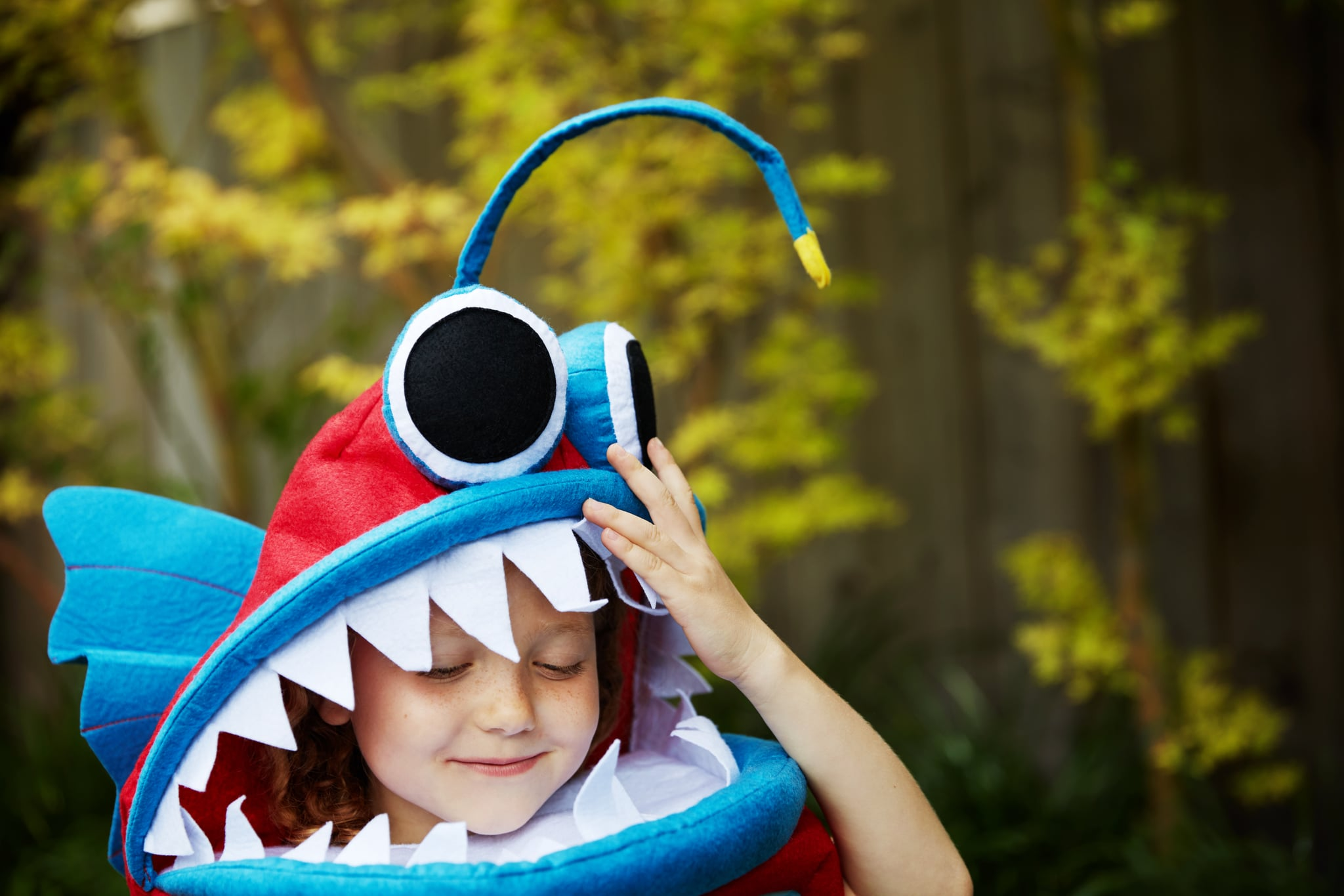 Every Year, My Kid Claims to Want a Scary Halloween Costume, but I Know She's Lying