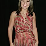 Kelly Clarkson stopped by the MTV Studios for TRL in 2002.