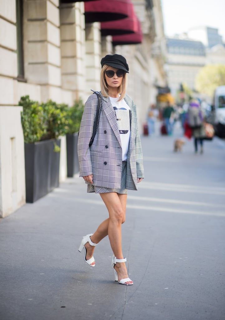 Ditch Your Pantsuit For a Cool Skirt Suit