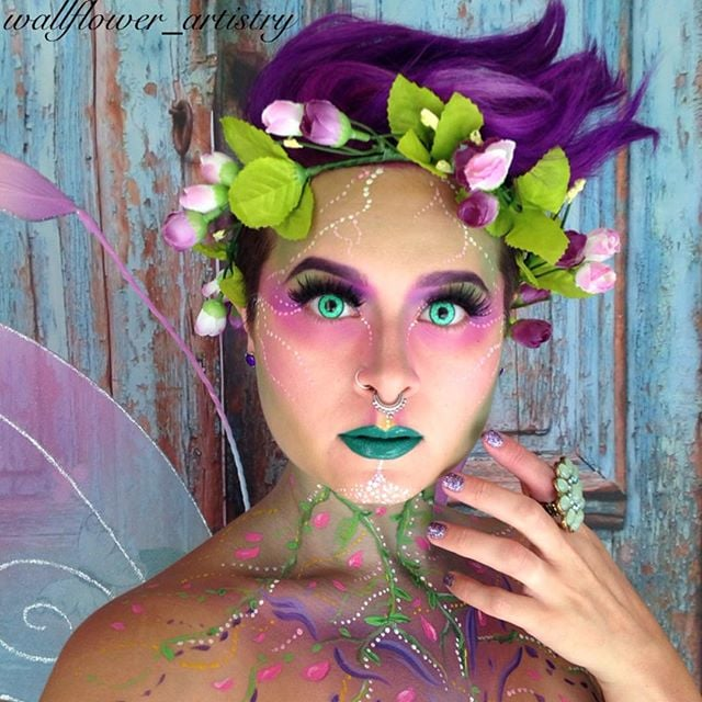 Fairy Hair And Makeup: 25 Ethereal Makeup Transformations To DIY Your Halloween
