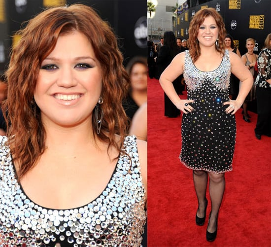 Photos of Kelly Clarkson at the 2009 American Music Awards