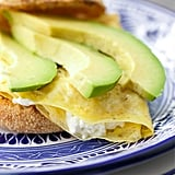 Goat Cheese and Avocado Egg Sandwiches