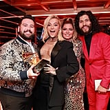 Shay Mooney, Bebe Rexha, Shania Twain, and Dan Smyers at the 2020 Grammys