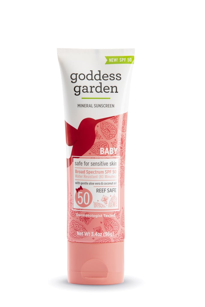 Goddess Garden Organics Baby Natural Sunscreen Lotion, SPF 50