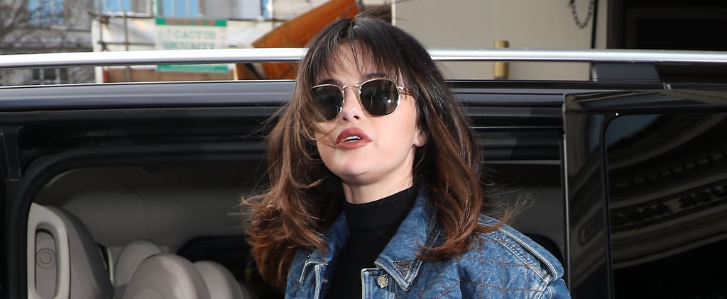 Selena Gomez's Shag Haircut and Bangs Photos