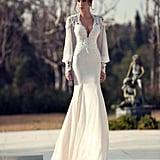 Berta Long Sleeve Mermaid Wedding Dress ($146)