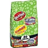 Starburst, Skittles, Lifesavers