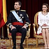 This Is What King Felipe VI and Queen Letizia of Spain's Coronation Was Like