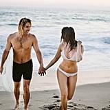 California Beach Engagement Shoot