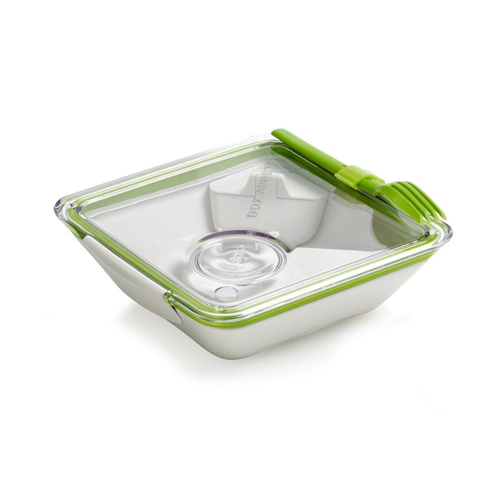 An interior sauce pot makes this BPA-free bento box ($22) perfect for everything from salads to sushi.