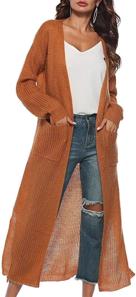 Kistore Long-Sleeve Open Cardigan