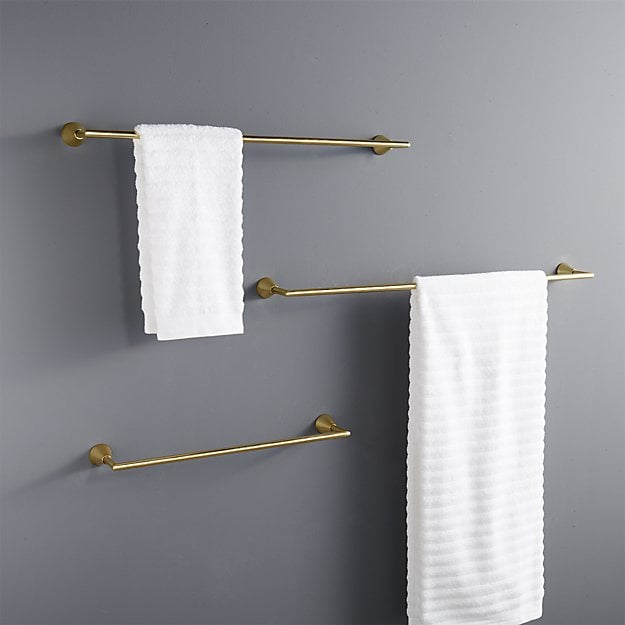 Small space living products from cb2 popsugar home for Where to put towel bar in small bathroom