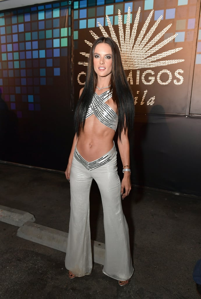 She starred in her own '70s show all decked out as Cher in a midriff-baring look.