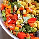 Easy Vegetarian Recipe: Curried Chickpea Salad