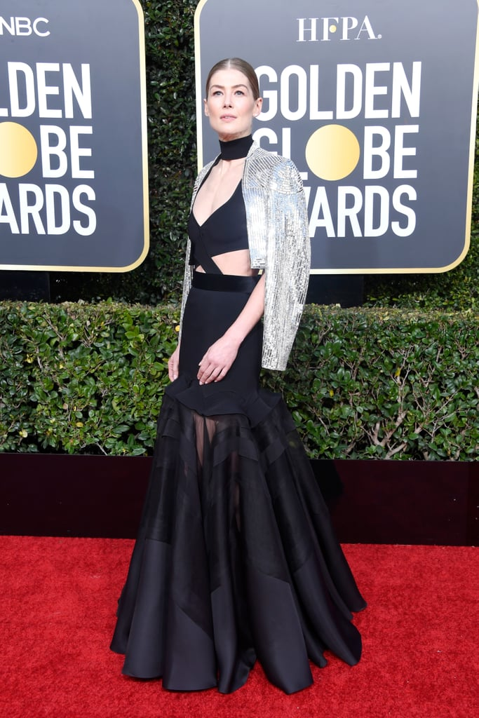 Rosamund Pike at the 2019 Golden Globes