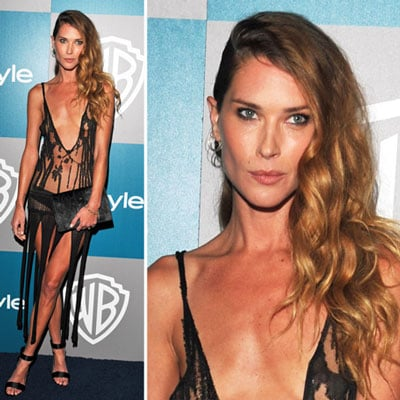 Erin Wasson at Golden Globes InStyle Afterparty 2012