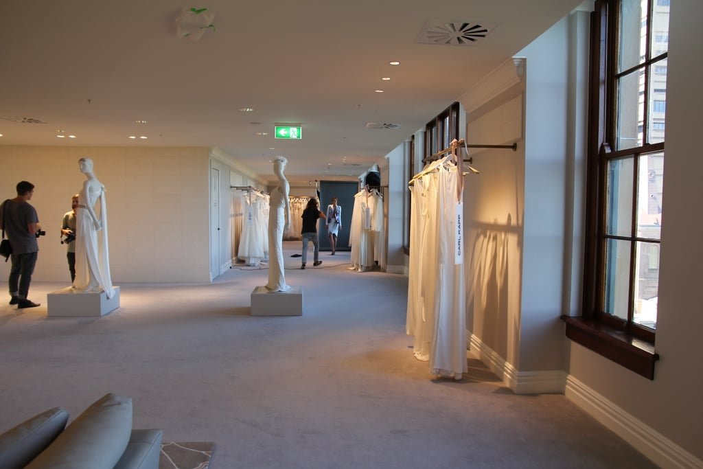 The gorgeous space where we interviewed Miranda. Brides-to-be take note.