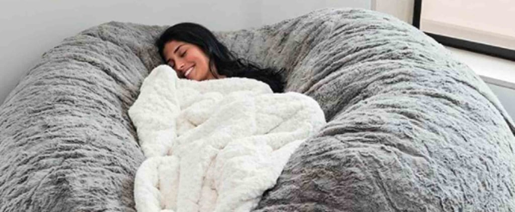 Sleepyheads, Rejoice! This Enormous Bean Bag From LoveSac Is What Nap Dreams Are Made Of