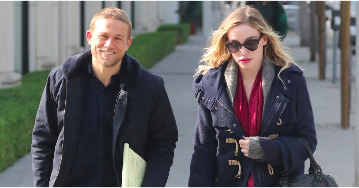 charlie hunnam and morgana mcnelis out in la december 2016
