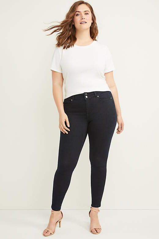 Lane Bryant Tighter Tummy High-Rise Skinny Jeans