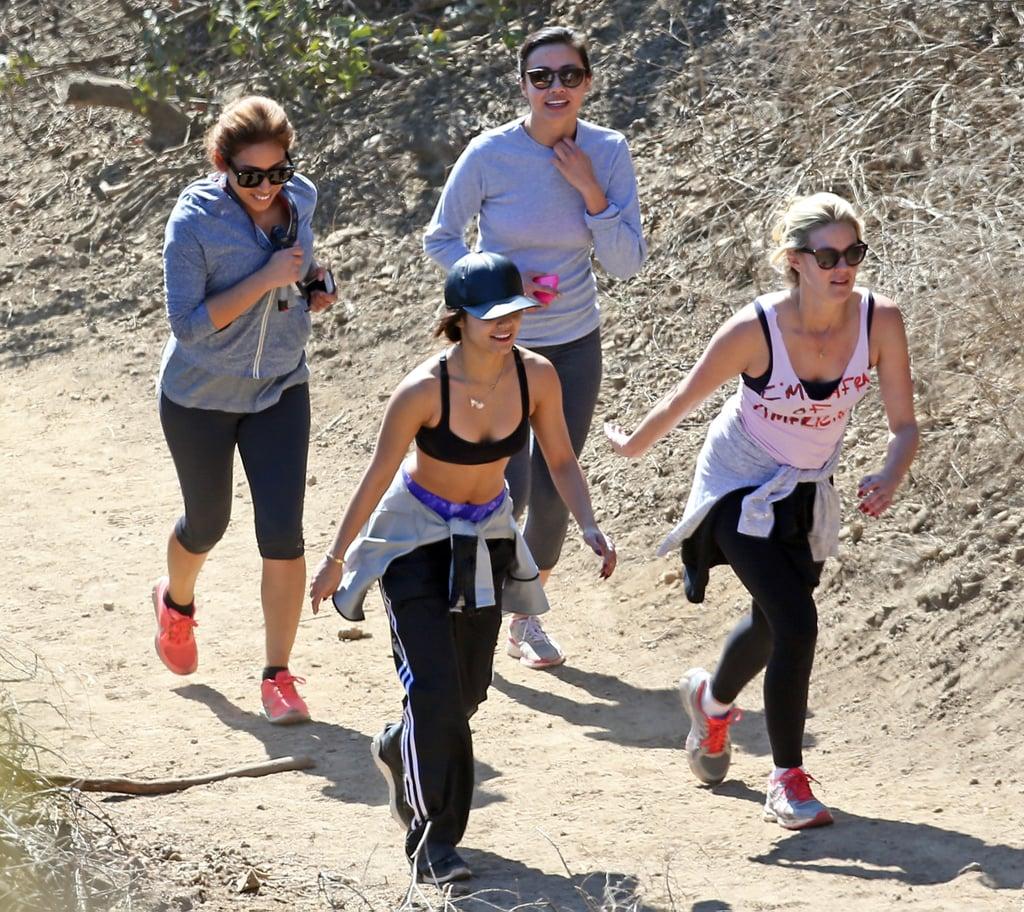 4b9ca856a9 Celebrities Hiking in Los Angeles