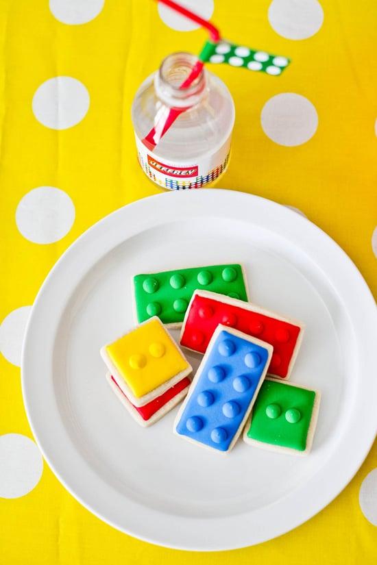 Sweet Lego Cookies