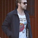 Ryan Gosling went out to lunch in Toluca Lake.