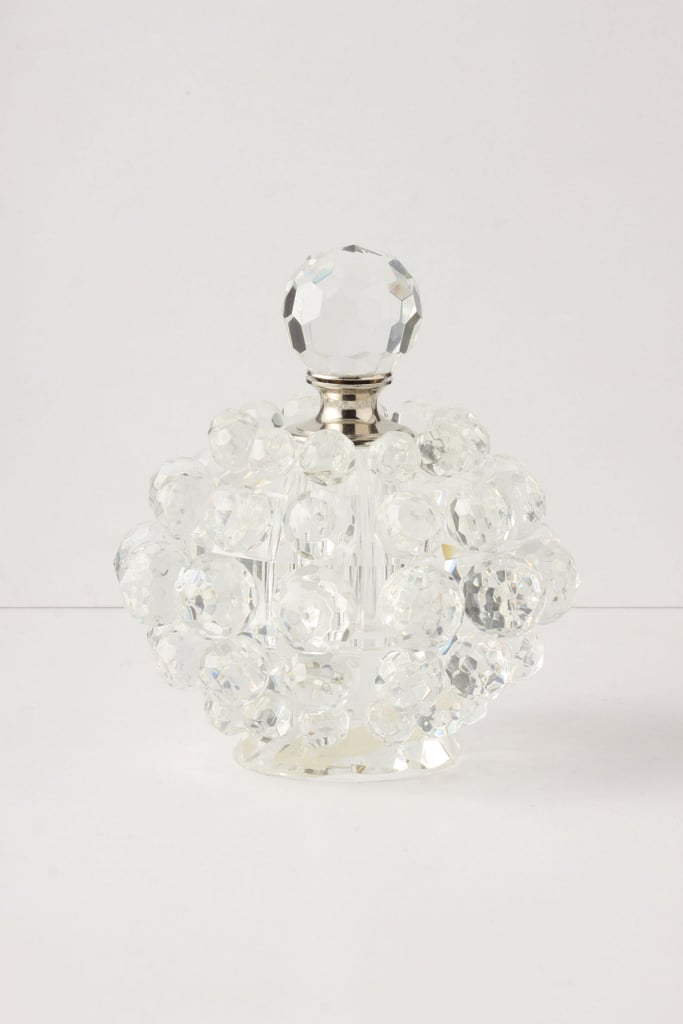 This crystalline perfume bottle ($48) will give her favorite fragrance a glamorous, vintage look.