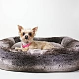 """Restoration Hardware Luxe Faux Fur Pet Bed ($99 and up) Ella Bean: """"I have one in every room. Four paws up."""""""