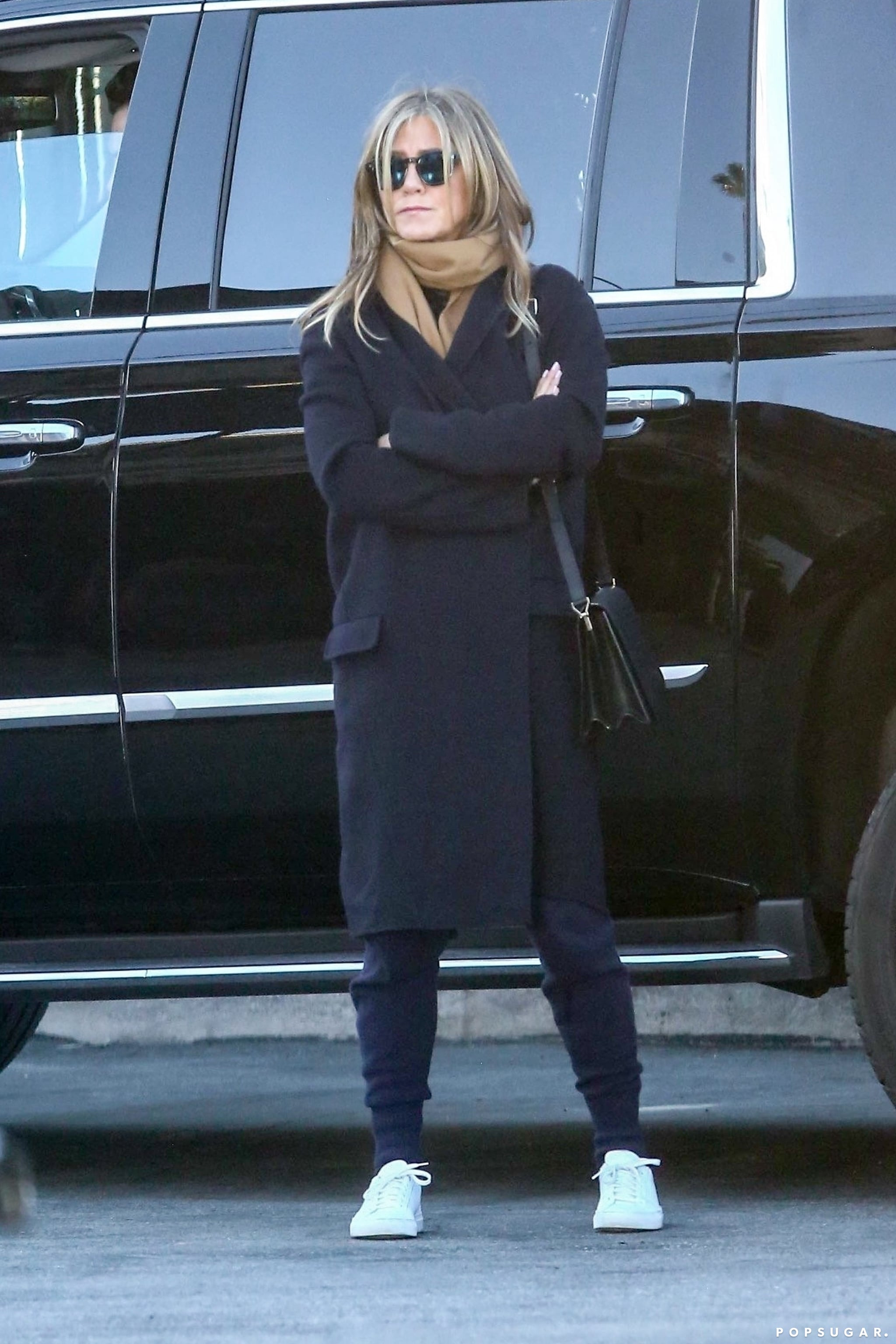 Jennifer Aniston's White Sneakers
