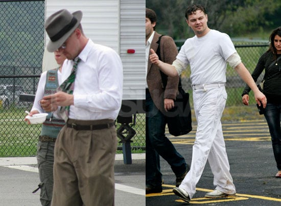 Photos of Leonardo DiCaprio and Martin Scorsese on Set of Shutter Island