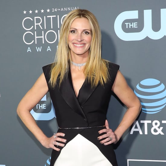 Julia Roberts's Nails at Critics' Choice Awards 2019