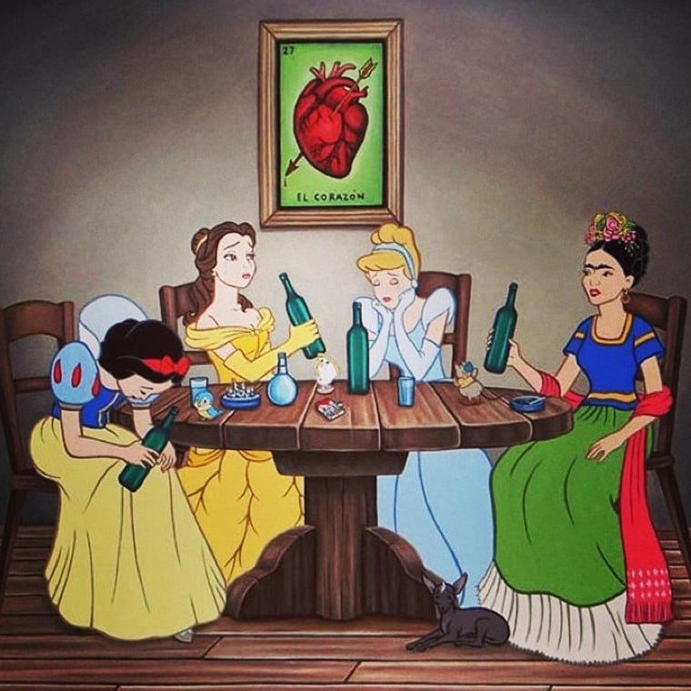 Profanity Pop Disney Art