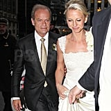 Pictures of Kelsey Grammer and Kayte Walsh's Wedding