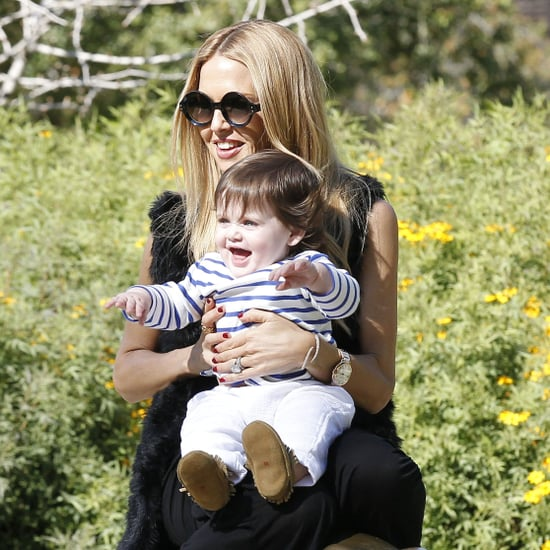 Rachel Zoe at a Park With Skyler in LA Pictures