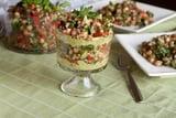 Light Quinoa and Avocado Tabbouleh Verrines