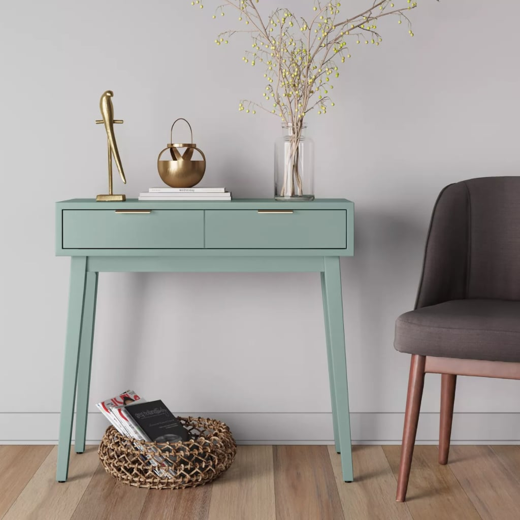Project 62 Hafley Two Drawer Console Table