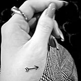 Selena Gomez Gets Matching Arrow Tattoos With Julia Michaels