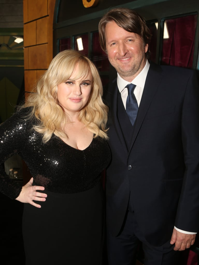 Rebel Wilson and Tom Hooper at the Cats World Premiere in NYC