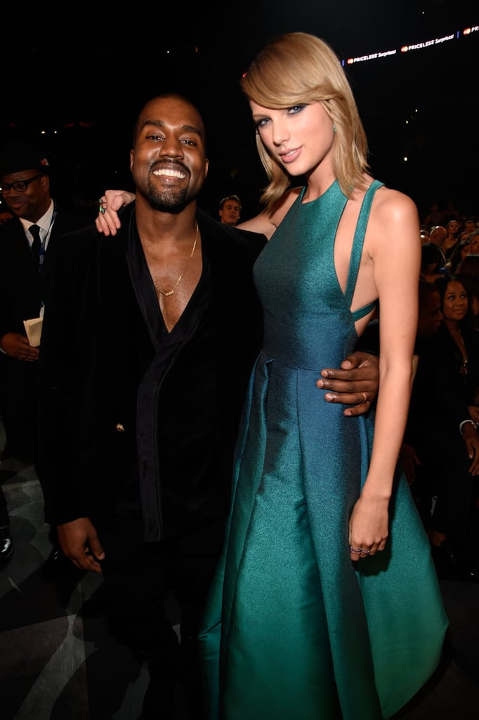 Taylor Swift and Kanye West Together at 2015 Grammys