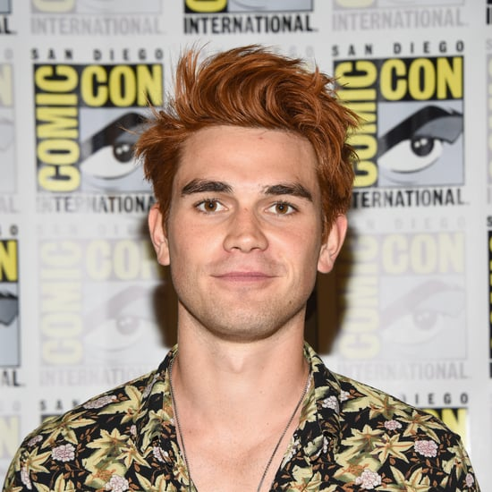 KJ Apa's Natural Hair Color