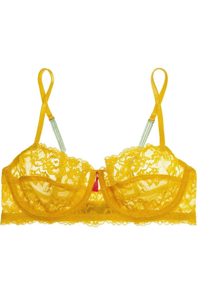 f017168ff502a Elle Macpherson Body Zest Stretch-Lace Balconette Bra ( 56 ...
