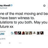 Chris Evans and Hayley Atwell Help With a Surprise Proposal