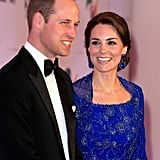 Kate only had eyes for Will as they attended a Gala Dinner and reception in Mumbai, India, in April.
